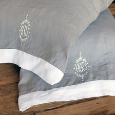 Pom Pom at Home Bedding His/Hers Pillowcase Set @Sarah Chintomby Chintomby Chintomby Nasafi Grayce