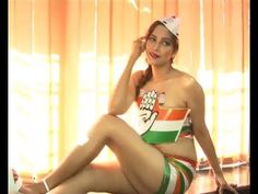 Tanisha Singh's SHOCKING PHOTOSHOOT to support congress party.
