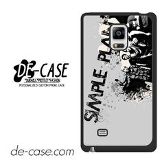 Simple Plan Crews Art DEAL-9614 Samsung Phonecase Cover For Samsung Galaxy Note Edge
