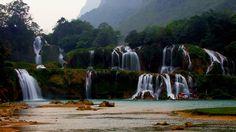 Ban Gioc Falls by Khoi Tran Duc #xemtvhay