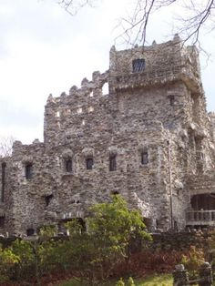 Gillette Castle between East Haddam and Lyme, Connecticut.