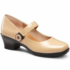 Dr. Comfort Classic Heel; CoCo featured in Taupe. Designed for #comfort and #diabetics. $149.00 USD.