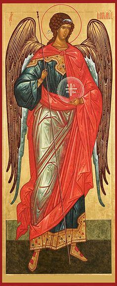 Icon of the Archangel Michael Archangel Gabriel, Archangel Michael, Byzantine Icons, Byzantine Art, Religious Icons, Religious Art, Religion, I Believe In Angels, Biblical Art