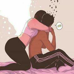 art by ile ilgili görsel sonucu Black Women Art, Black Art, Couple Swag, Bd Comics, Arte Pop, Dope Art, Black Love, Urban Art, Female Art