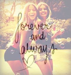 cuz I was there when you said forever and always