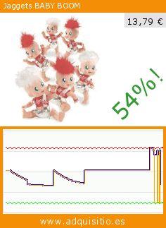 Jaggets BABY BOOM (Juguete). Baja 54%! Precio actual 13,79 €, el precio anterior fue de 30,18 €. https://www.adquisitio.es/famosa/jaggets-baby-boom