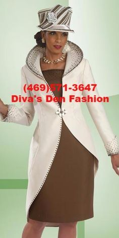 Biggest Trends In Women S Fashion Women Church Suits, Suits For Women, Special Dresses, Long Dresses, Formal Dresses, Church Fashion, White Suits, Church Dresses, Church Hats