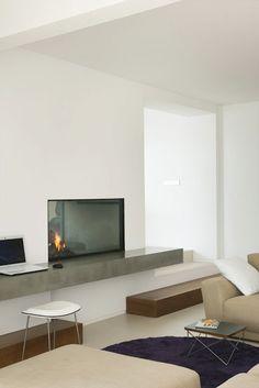 Casa Blanca minimalista en Ibiza, Tonos Blancos y Beige, Blog tendenciasydecoracion.com