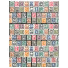 #Blanket - Vintage Stamps Design  -  c. 1902 Stamps - #bridal #shower #gifts #wedding #party #bride