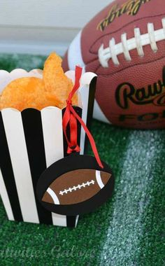 Football Party Food Ideas! See more party planning ideas at CatchMyParty.com!