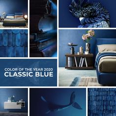 Classic Blue Pantone 2020 - 2020 color of the year - Blue Colour Palette, Blue Color Schemes, Pantone Colour Palettes, Pantone Color, Color Of The Year 2017 Pantone, Napoleonic Blue, Pantone 2020, Modern Interior Design, Wall Colors
