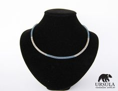Viking Knit Necklace for Winter Women by UrsulaChainmaille, $20.00