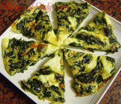 Traditional Italian Spinach Frittata (Frittata con Spinaci)   Enjoy this authentic Italian recipe from our kitchen to yours. Buon Appetito!