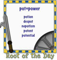 Reading Olympians ~ Root of the day LOVE LOVE LOVE this program