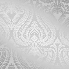 I Love Wallpaper Shimmer Damask Wallpaper Soft Grey / Silver - Wallpaper from I love wallpaper UK Grey Damask Wallpaper, Pattern Wallpaper, Bedroom Wallpaper, Silver Wallpaper Bathroom, Copper Wallpaper, Waves Wallpaper, Trellis Wallpaper, 3d Wallpaper Uk, Silver Bedroom