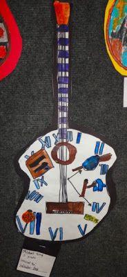 Famous Artwork Guitar