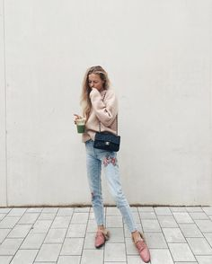 Grey Saturdays call for baby pink and green juice✌️ / mvb on instagram
