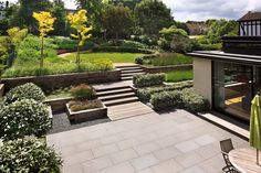 Modern garden by town and country gardens contemporary garden design, home gard Contemporary Garden Design, Modern Landscape Design, Garden Landscape Design, Modern Landscaping, Outdoor Landscaping, Garden Modern, Landscaping Ideas, Landscaping Software, Landscape Art