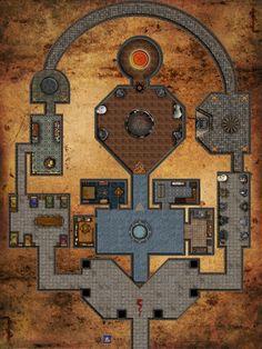 Dungeon within a Dungeon by Bogie-DJ.deviantart.com on @DeviantArt