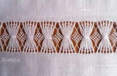 This Pin was discovered by Muh Types Of Embroidery, Hand Embroidery Stitches, Learn Embroidery, Embroidery Techniques, Cross Stitch Embroidery, Embroidery Patterns, Monks Cloth, Drawn Thread, Hardanger Embroidery