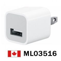 OEM Apple AC To USB Charger for iPhone iPod iTouch    Price = $14.99