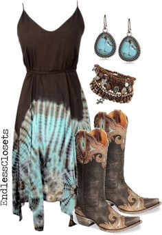 """Big Sky Country"" by endlessclosets on Polyvore"