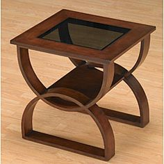 Bentwood End Table - plantstand