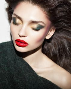 Make Up Editorial Photography by Dudi Hasson
