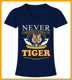 The Woman Loves Tiger - Tiger shirts (*Partner-Link)