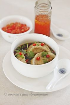 Tibetan-Style Dumplings in Ginger Broth—soup perfection for cooler evenings.