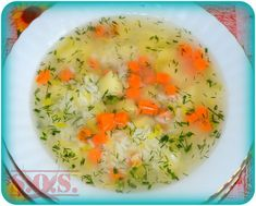Lekka zupa ryżowa | Blog Kulinarny Cheeseburger Chowder, Cantaloupe, Mashed Potatoes, Food And Drink, Fruit, Cooking, Ethnic Recipes, Blog, Whipped Potatoes