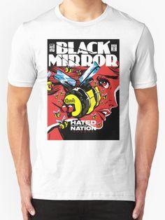 Hated T-Shirt - Black Mirror T-Shirt at Redbubble!