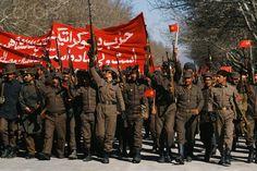 Saur Revolution ,1978. Celebration rally.