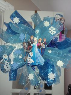 NWT DISNEY FROZEN OLAF DECOUPAGE CHRISTMAS ORNAMENT I SHIP EVERYDAY