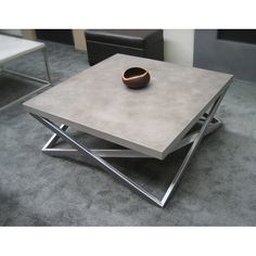 Concrete Table and Concrete Table Top - Trueform Concrete Concrete Furniture, Iron Furniture, Steel Furniture, Industrial Furniture, Table Furniture, Furniture Design, Loft Furniture, Furniture Market, Cheap Furniture