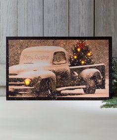 Ohio Wholesale, Inc. Tree & Pick-Up Light-Up Canvas | zulily