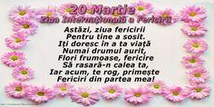 Felicitari de Ziua Fericirii - 20 Martie - Ziua Mondială a Fericirii - mesajeurarifelicitari.com Martie