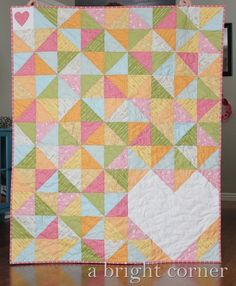 LOVE this!Sweet Talk quilt pattern