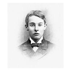 "Alfred ""Bosie"" Douglas - poet, editor, and lover of Oscar Wilde - as a schoolboy in 1891."