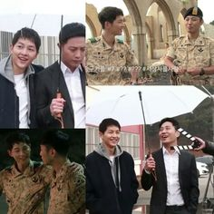 Song Joong Ki & Jin Goo  Descendants Of The Sun