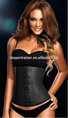 Cheap corset waist trainer, Buy Quality weight loss corset directly from China waist trainer Suppliers: Sexy Weight Loss Corset Waist Trainer Hot Shapers Slimming Underwear Cinta Modeladora De Corpo Fajas Fajas Reductoras Espartilho Corset Noir, Latex Corset, Underbust Corset, Sexy Corset, Black Corset, Latex Waist Trainer, Waist Trainer Corset, Bustiers, Fajas Ann Chery