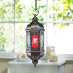 FLORET PRISM HANGING CANDLE LANTERN from Gift Raiders for $11.35