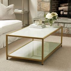 Living Rm Suzanne Kasler Lydie Coffee Table Ballard Designs