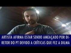 Política na Rede: Artista denuncia como o PT está derrubando páginas e perfis na internet que falam contra Dilma; assista