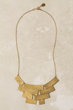 I love gold pieces as well as silver one. This is a great structured piece that could be worn with pretty much anything.