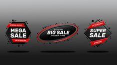 Sale banners set Premium Vector | Premium Vector #Freepik #vector Sale Banner, Web Banner, Banner Template, Banners, Story Setting, Instagram Story, Instagram Posts, Instagram Post Template, Sale Promotion