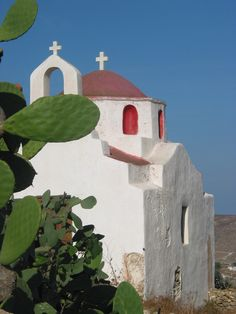 Church on Mykonos island, Greece
