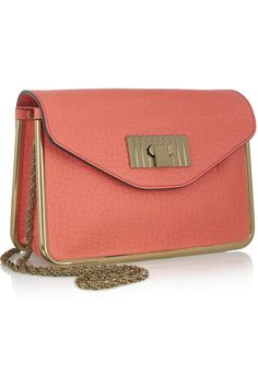Chloe Sally textured-leather shoulder bag