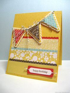 Pennant Parade stamp set by Stampin' Up!
