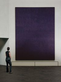 "A Mark Rothko Painting in Houston's Rothko Chapel.   Art: Enjoying HOUSTON'S ROTHKO CHAPEL ""The Rothko Chapel is a place apart. It calls f..."